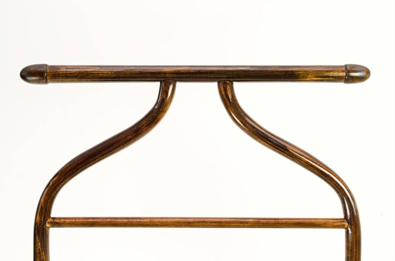 Polished Coat Stand by Thonet For Sale