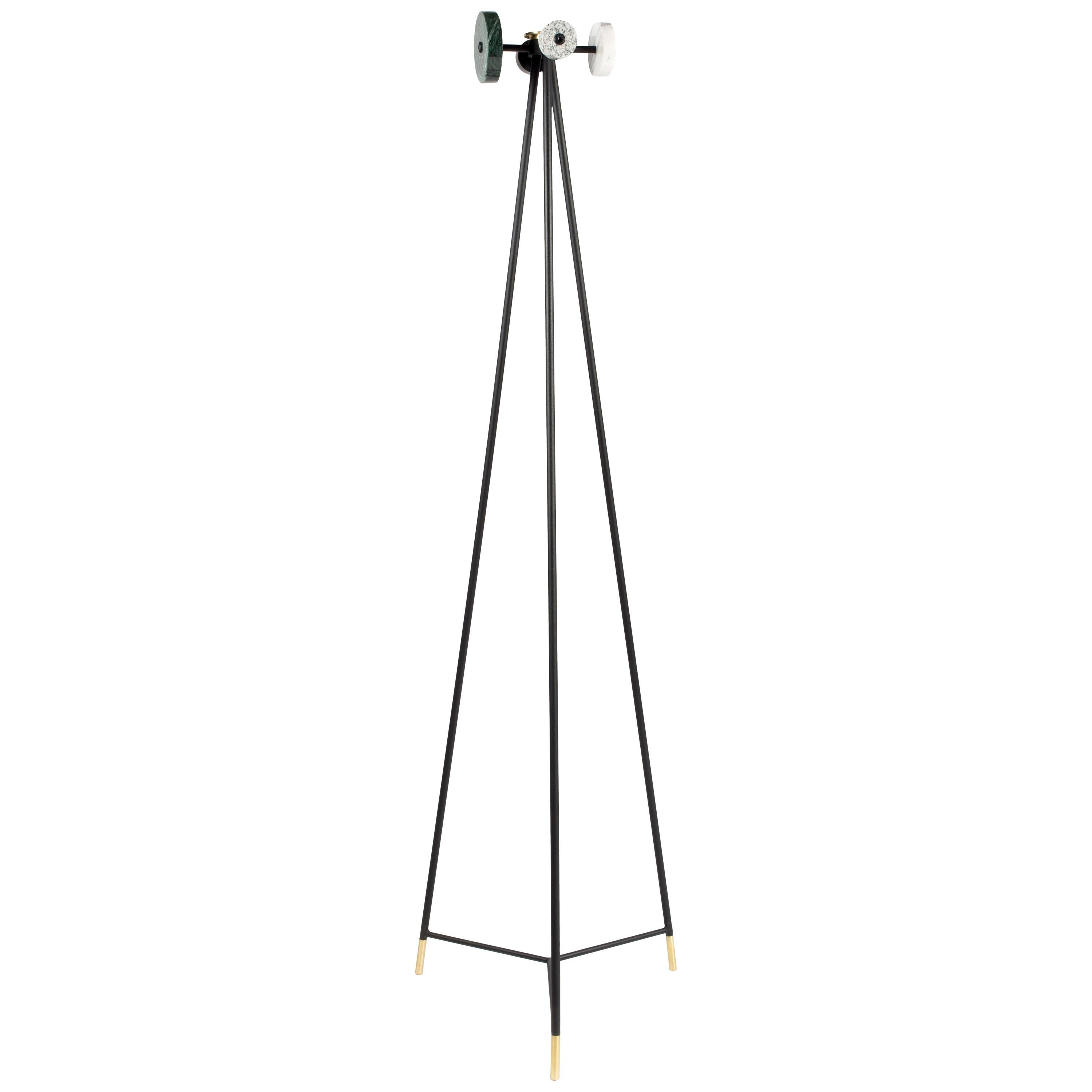 Coat Rack, marble and metal, Contemporary Mexican Design