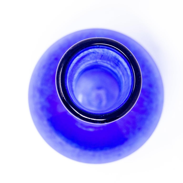 Cobalt Blue Bud Vase, 2004 by Ignis For Sale 3