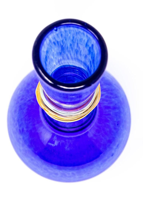 Cobalt Blue Bud Vase, 2004 by Ignis For Sale 4