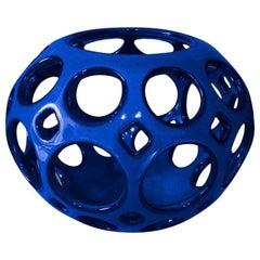 Cobalt Blue Tabletop Candleholder