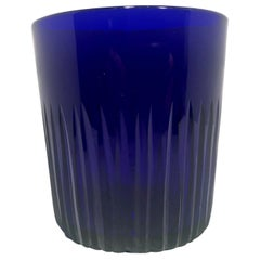 Cobalt Blue Whiskey Glass or Tumbler