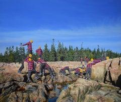 Untitled (Rocky Coast of Maine III)