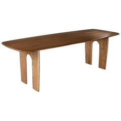 Coble Wooden Oak Timber Dining Table Customisable