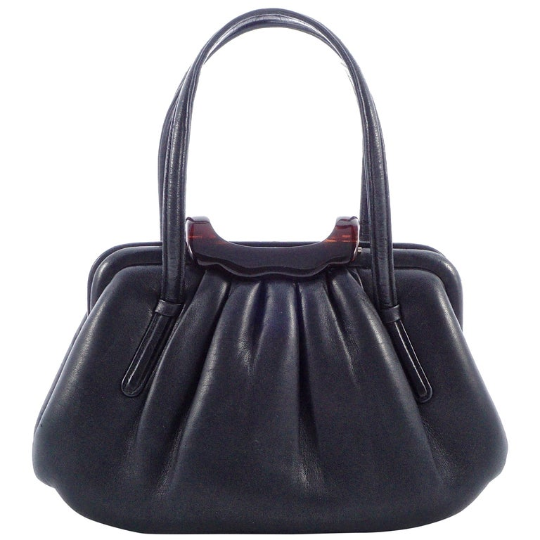 Coblentz Italian Soft Black Leather