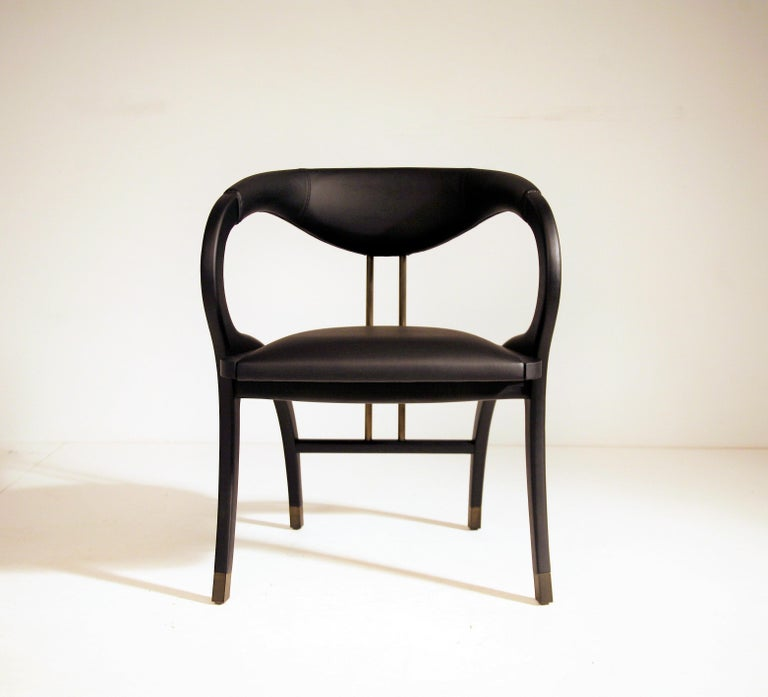 Modern Cobra Dining Chair, Set of 6 For Sale