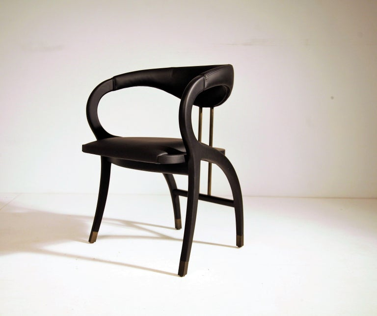 Portuguese Cobra Dining Chair, Set of 6 For Sale
