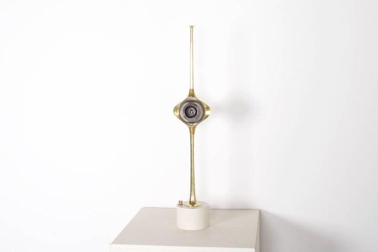 Italian Cobra Lamp by Angelo Lelli for Arredoluce, 1960s For Sale