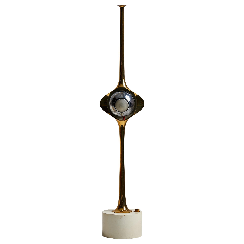 """""""Cobra"""" Table Lamp by Angelo Lelli for Arredoluce"""