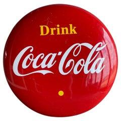 Coca-Cola Tin Plate, 1980s