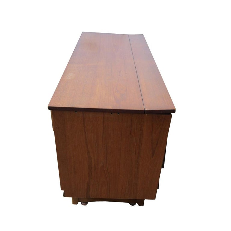 American Cocktail Cabinet or Credenza For Sale