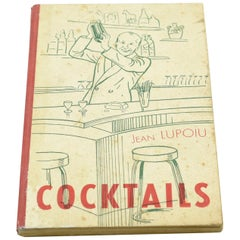 Cocktail Recipes Book by Jean Lupoiu Rare 1948 Edition