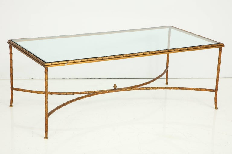 Cocktail Table Attributed to Maison Baguès For Sale 2