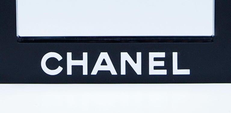 Coco Chanel Acrylic Wall Mirror For Sale 1