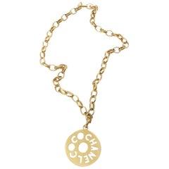 COCO Chanel Medallion Necklace