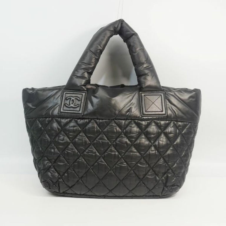 Black COCO Cocoon  totePM  Womens  tote bag A48610 For Sale