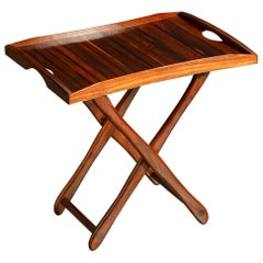 Cocobolo Rosewood Tray Table by Don Shoemaker for Señal, c. 1970