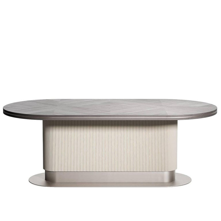 Cocoon Oval Dining Table For Sale