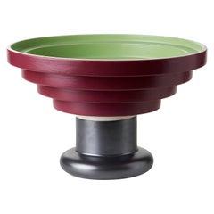 Code ZZ66A540, Rocchetto Vase by Designer Ettore Sottsass, Material Ceramic