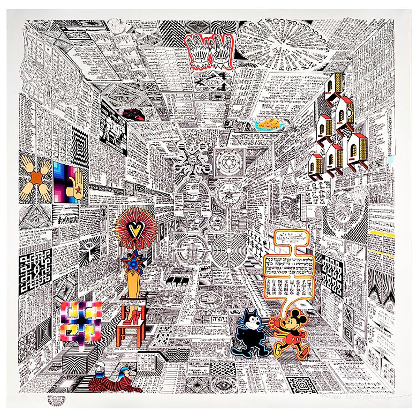 """""""Codice Miguelito I"""" by Pedro Friedeberg"""