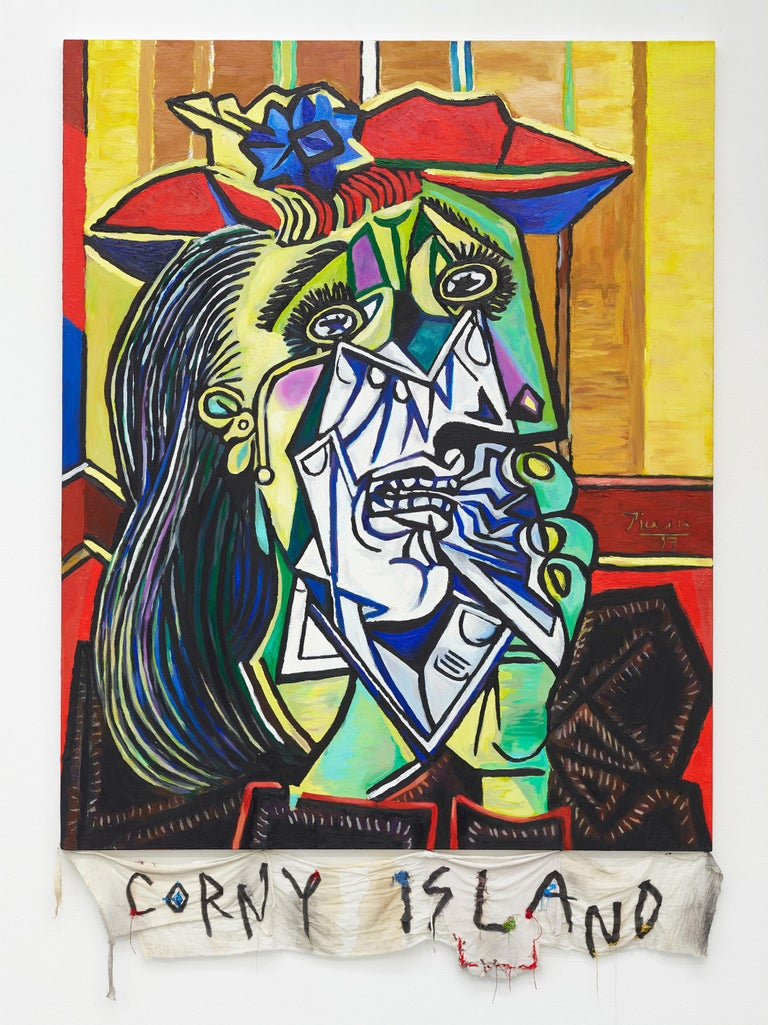 Episteme Sabotage – Corny Island  - Mixed Media Art by Cody Choi