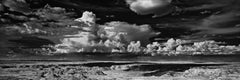 Panoramic Landscape B&W Photography: 'Painted Desert'