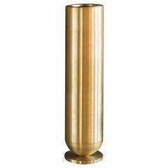 Cofete Brass Vase, Jan Garncarek
