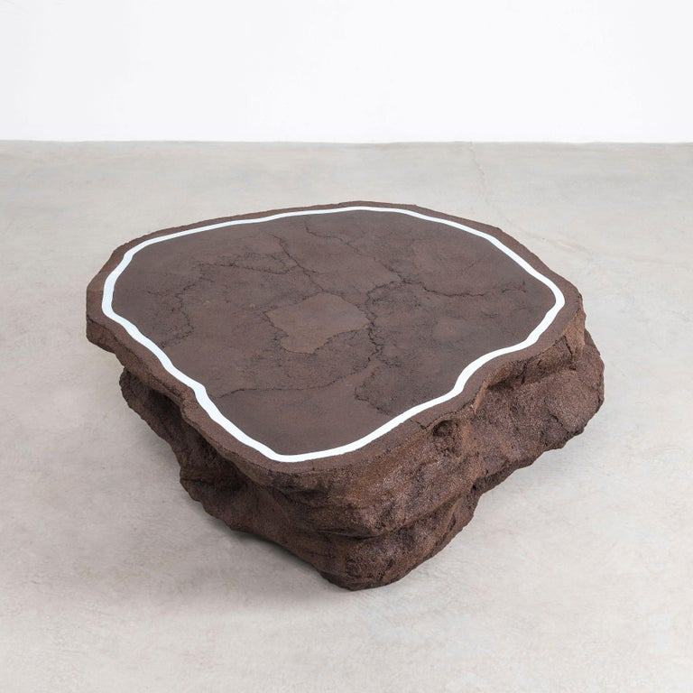 Contemporary Coffee Coffee Table by Fernando Mastrangelo For Sale