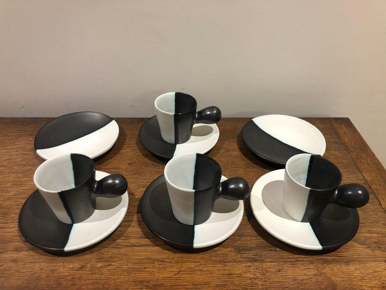Mid-Century Modern Coffee Set by Atelier Cerenne Vallauris For Sale