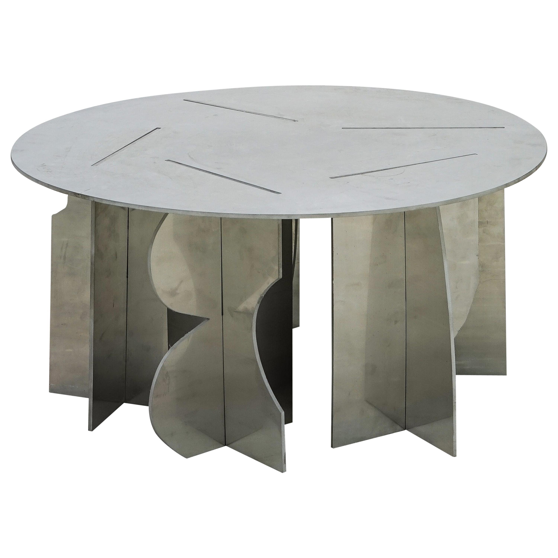 Contemporary Coffee Table #1 by Bahraini Danish, in Aluminum