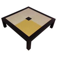 Coffee Table 12 - 22 Carat Gold Leaf Top