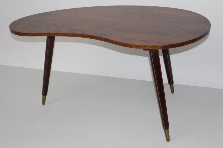 Mid-Century Modern Mid Century Modern Vintage Coffee Table 1950s Vienna For Sale