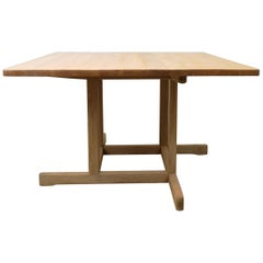 Coffee Table 5271 Børge Mogensen Oak, Denmark, 1970s