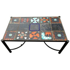 Coffee Table Attributed to Jacques Adnet, circa 1940
