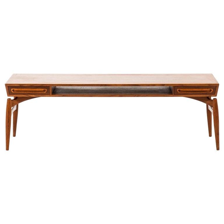 Coffee Table Attributed to Johannes Andersen by Trensum Möbelfabrik in Sweden For Sale