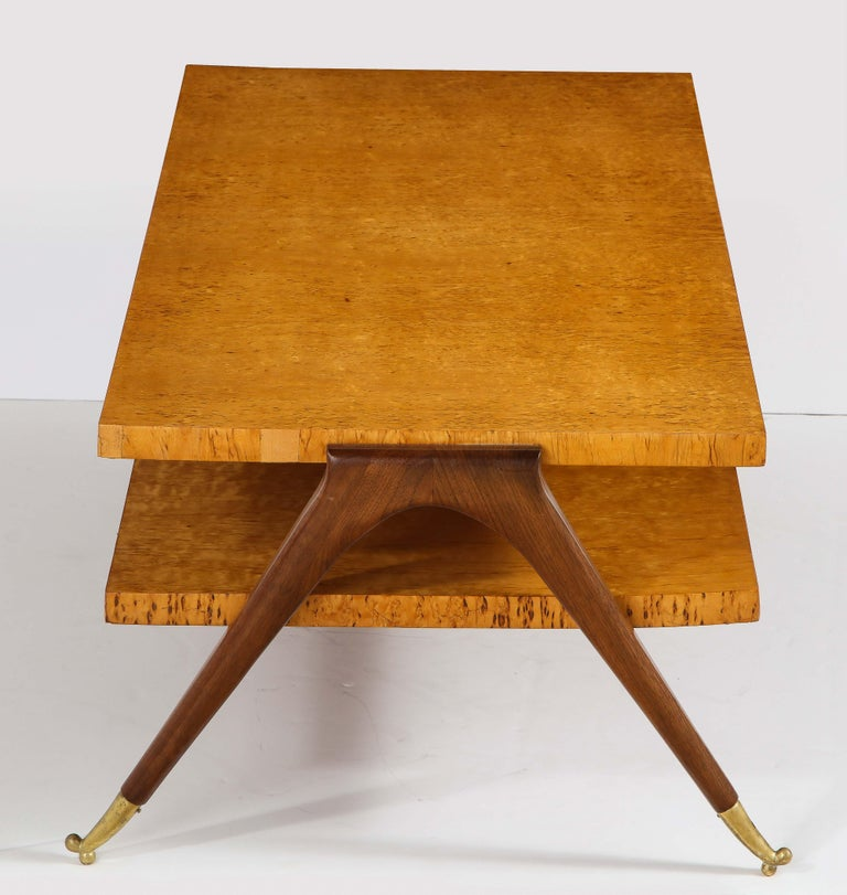 Coffee Table Attributed to Osvaldo Borsani For Sale 3
