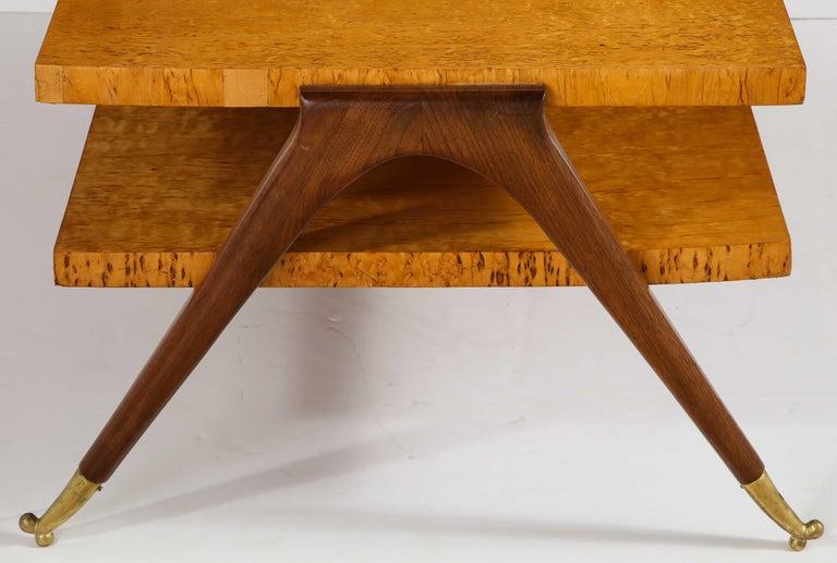 Coffee Table Attributed to Osvaldo Borsani For Sale 4
