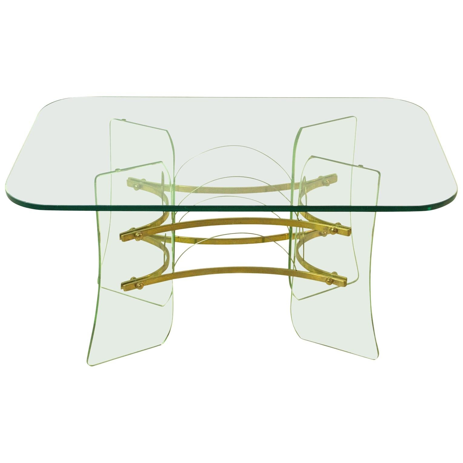 Coffee Table Attributed to Pietro Chiesa for Fontana Arte Italy