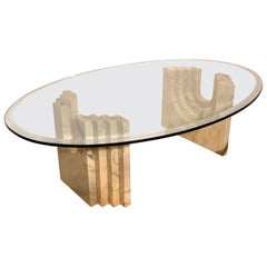 Coffee Table Attributed to Tobia Scarpa