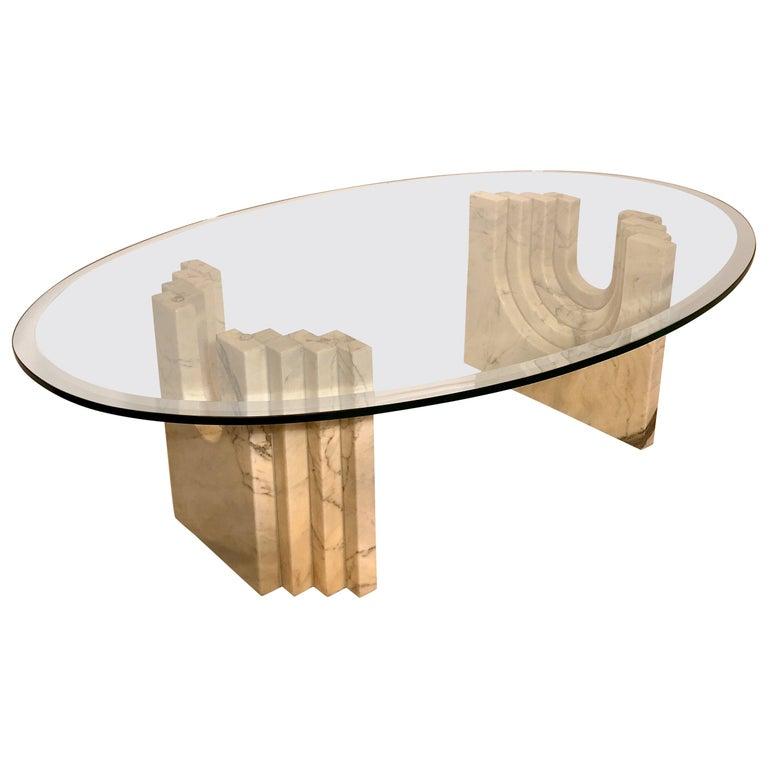 Coffee Table Attributed to Tobia Scarpa For Sale