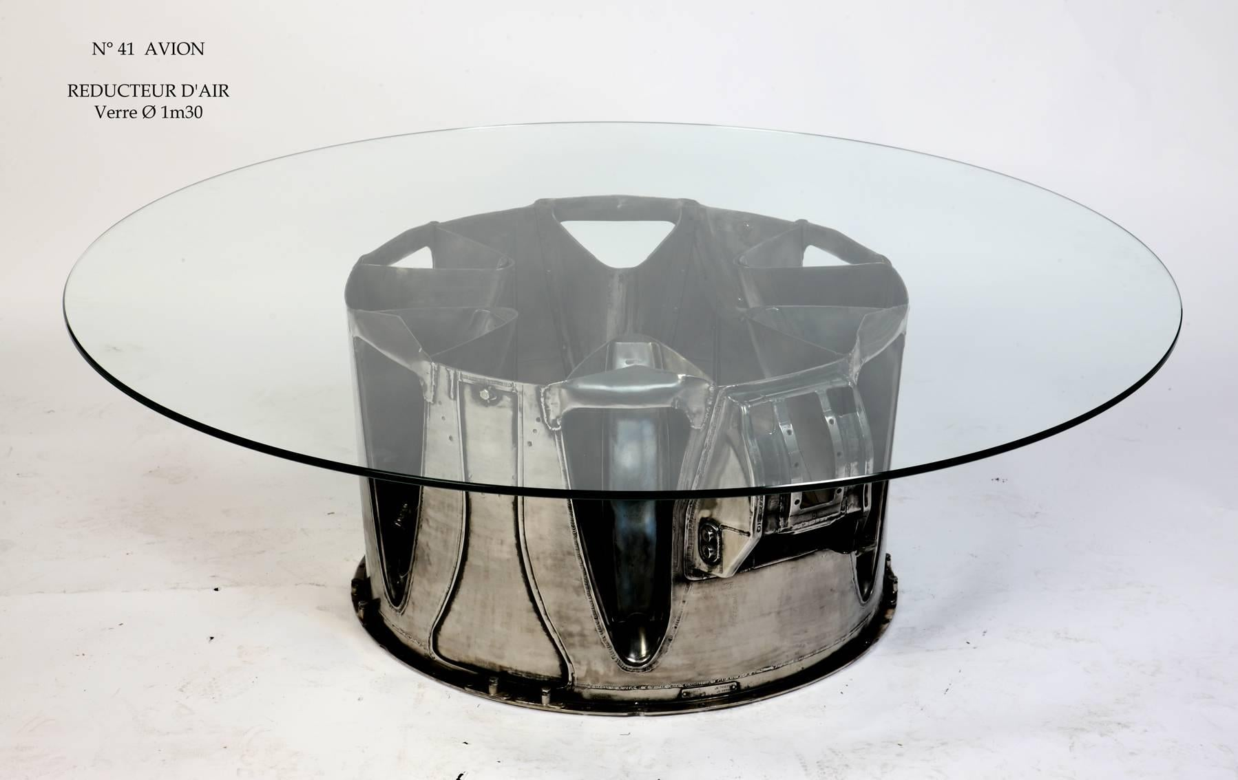 Coffee Table Aviation Furniture AVIATIONSPIRIT by Jean-Pierre ...
