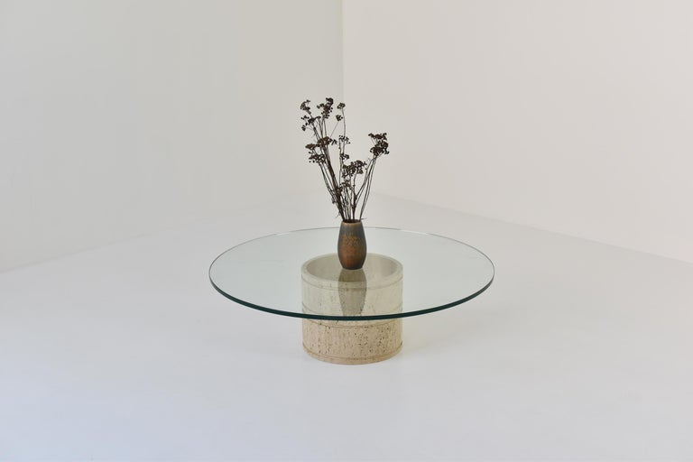 Mid-Century Modern Coffee Table by Angelo Mangiarotti for Up & Up, Italy, 1970s For Sale