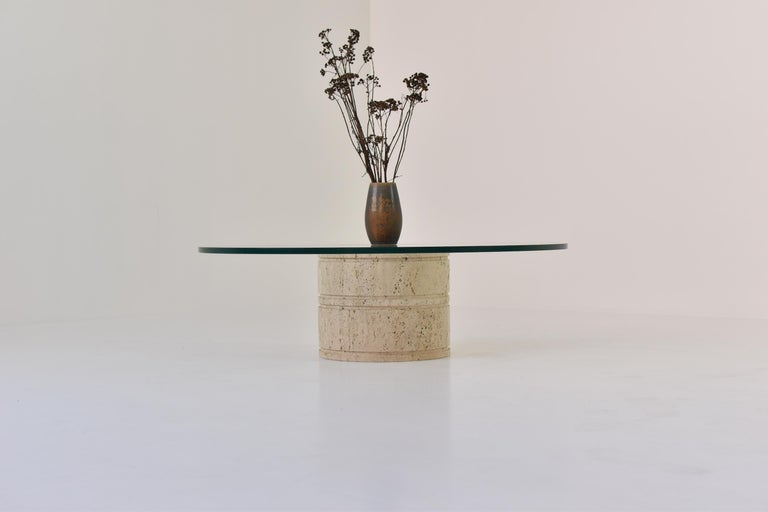 Italian Coffee Table by Angelo Mangiarotti for Up & Up, Italy, 1970s For Sale