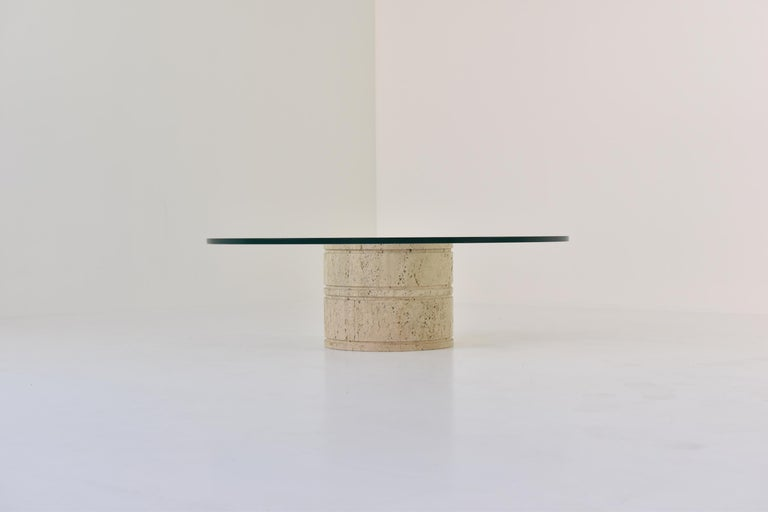 Coffee Table by Angelo Mangiarotti for Up & Up, Italy, 1970s In Good Condition For Sale In Antwerp, BE