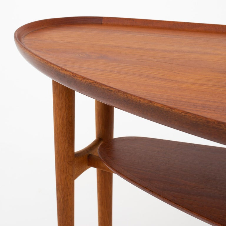Oiled Coffee Table by Arne Vodder For Sale