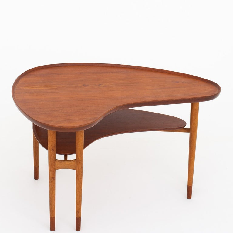 Teak Coffee Table by Arne Vodder For Sale