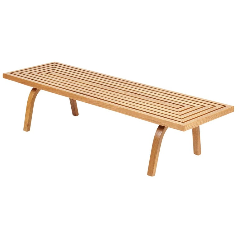 Coffee Table by Edward Durell Stone For Sale