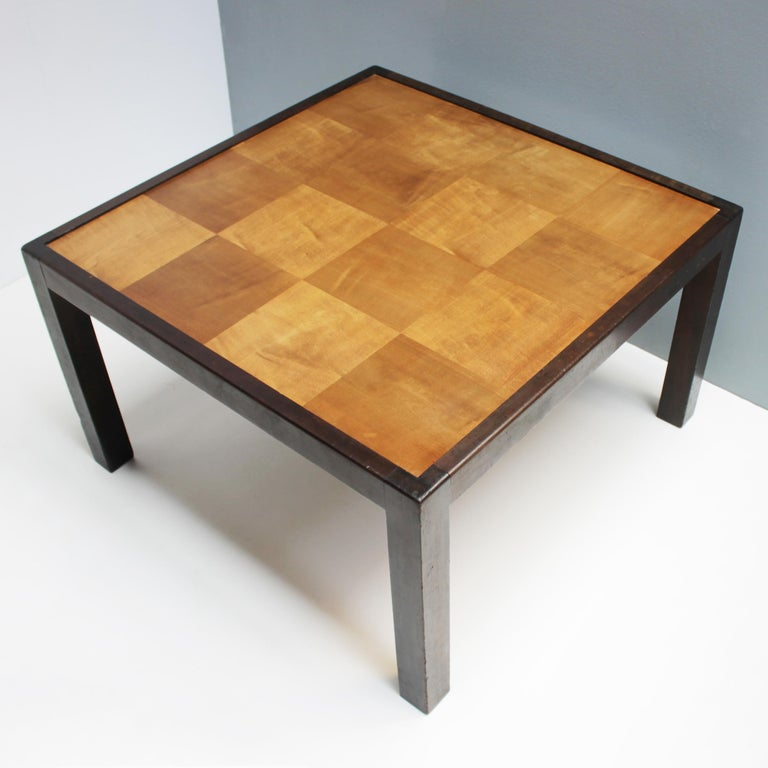 Stained Coffee Table by Erich Dieckmann For Sale