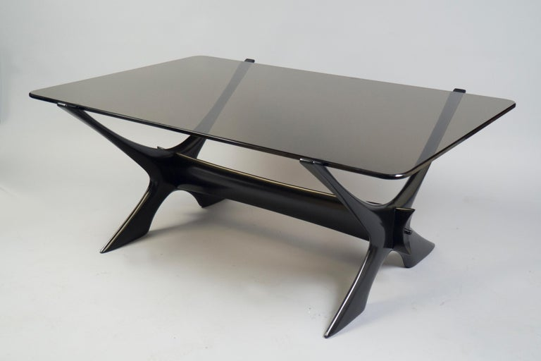 Mid-Century Modern Coffee Table by Fredrik Schriever Abeln, Sweden, 1960s For Sale