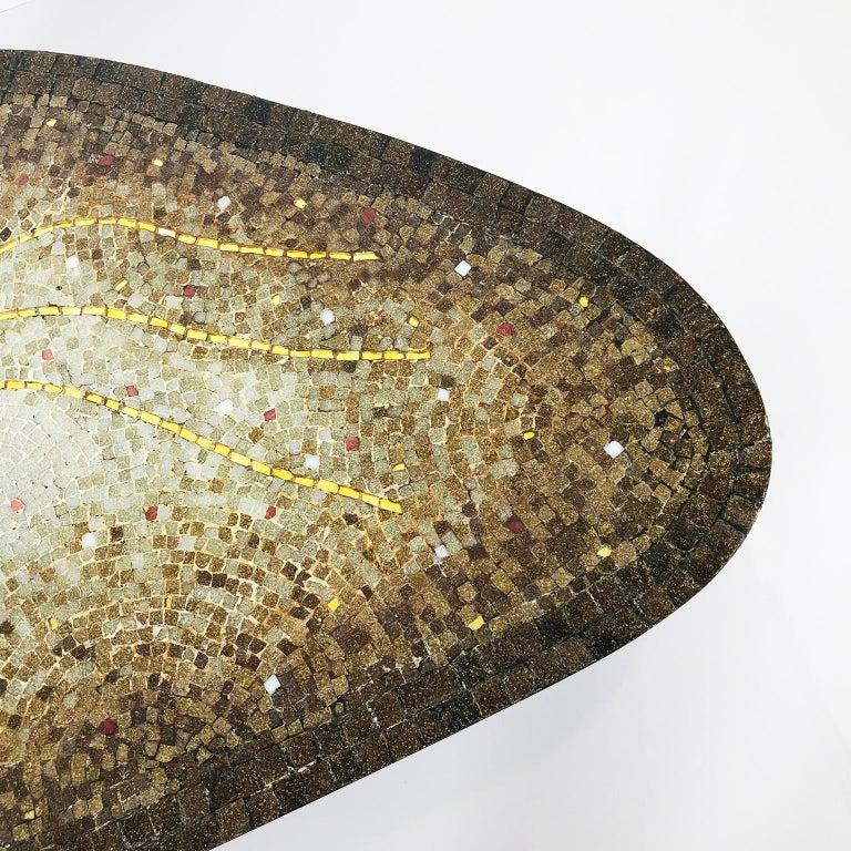 Mosaic Coffee Table by Genaro Alvarez For Sale